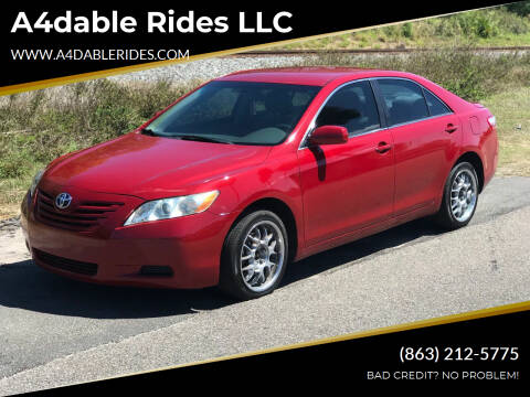 2009 Toyota Camry for sale at A4dable Rides LLC in Haines City FL