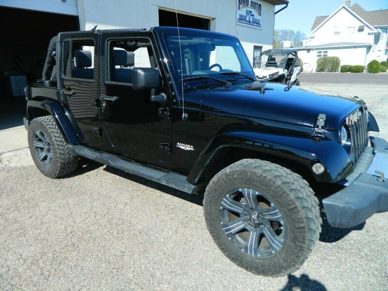 2009 Jeep Wrangler Unlimited for sale at Pro Auto Sales in Flanagan IL