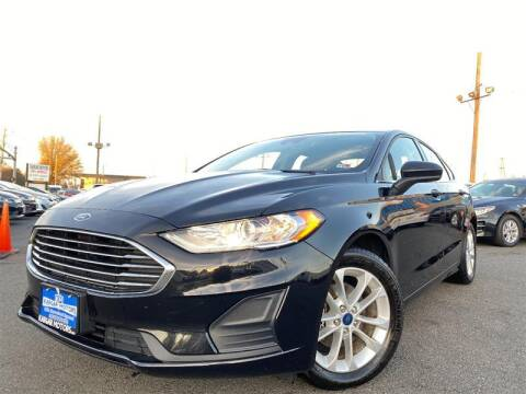2019 Ford Fusion for sale at Kargar Motors of Manassas in Manassas VA