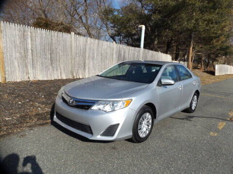 2012 Toyota Camry for sale at Wayland Automotive in Wayland MA