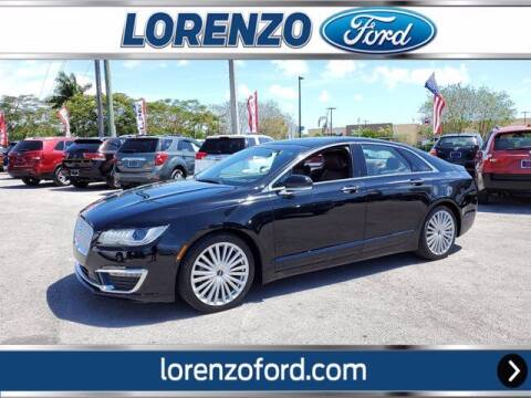 2017 Lincoln MKZ for sale at Lorenzo Ford in Homestead FL