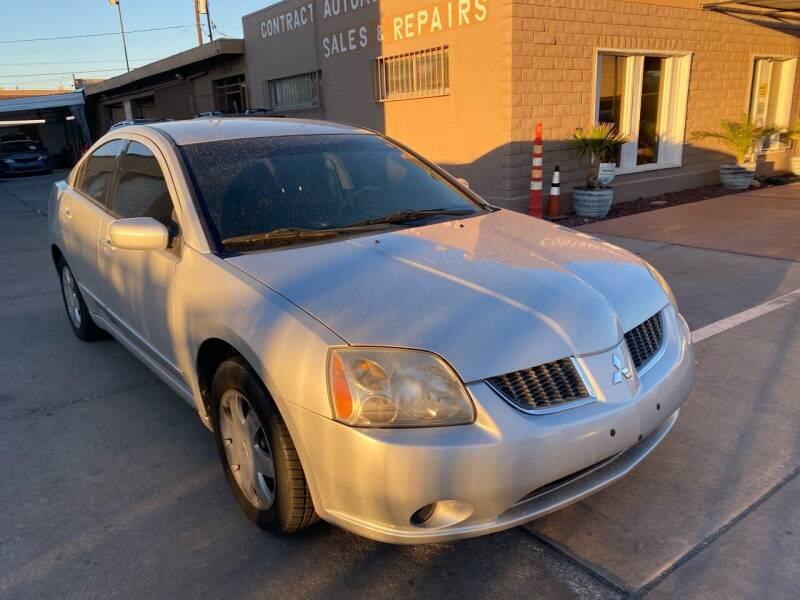 2005 Mitsubishi Galant for sale at CONTRACT AUTOMOTIVE in Las Vegas NV