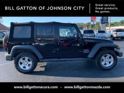 2013 Jeep Wrangler Unlimited for sale at Bill Gatton Used Cars - BILL GATTON ACURA MAZDA in Johnson City TN