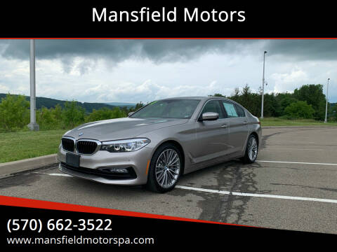 2017 BMW 5 Series for sale at Mansfield Motors in Mansfield PA