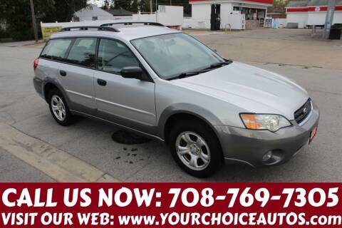 2007 Subaru Outback for sale at Your Choice Autos in Posen IL