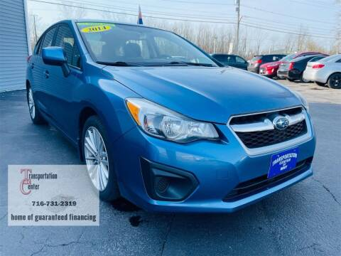 2014 Subaru Impreza for sale at Transportation Center Of Western New York in Niagara Falls NY