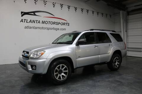 2007 Toyota 4Runner for sale at Atlanta Motorsports in Roswell GA