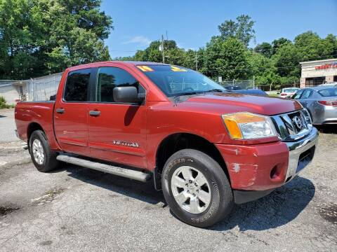 2014 Nissan Titan for sale at Import Plus Auto Sales in Norcross GA