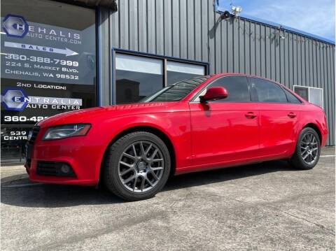 2009 Audi A4 for sale at Chehalis Auto Center in Chehalis WA