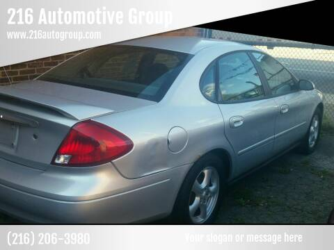 2003 Ford Taurus for sale at 216 Automotive Group in Cleveland OH