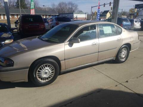 2001 Chevrolet Impala for sale at Springfield Select Autos in Springfield IL