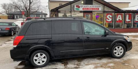 2006 Nissan Quest for sale at NJ Quality Auto Sales LLC in Richmond IL