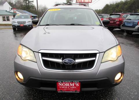 2008 Subaru Outback for sale at Norm's Used Cars INC. in Wiscasset ME