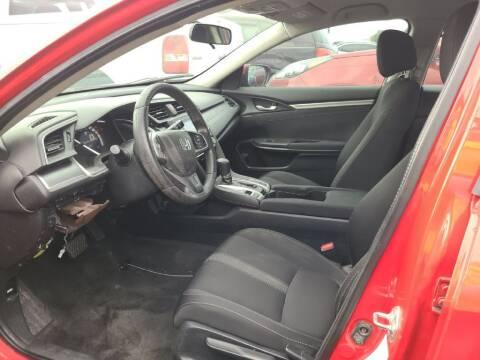 2016 Honda Civic for sale at HERMANOS SANCHEZ AUTO SALES LLC in Dallas TX