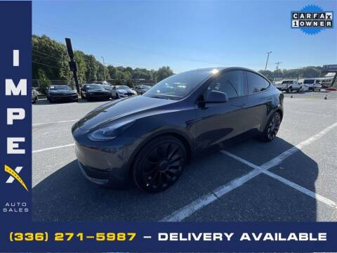 2021 Tesla Model Y for sale at Impex Auto Sales in Greensboro NC