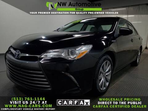 2015 Toyota Camry Hybrid for sale at NW Automotive Group in Cincinnati OH