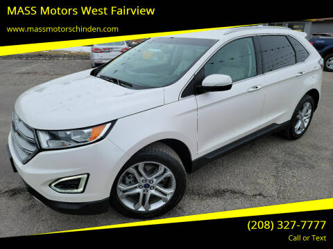 2015 Ford Edge for sale at MASS Motors West Fairview in Boise ID