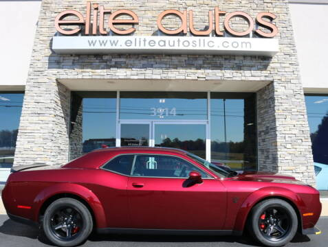 2018 Dodge Challenger for sale at Elite Autos LLC in Jonesboro AR