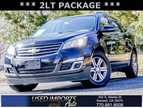 2016 Chevrolet Traverse for sale at Used Imports Auto in Roswell GA