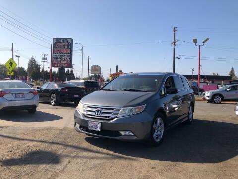 2011 Honda Odyssey for sale at City Motors in Hayward CA
