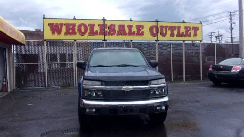 2005 Chevrolet Colorado for sale at LONG BROTHERS CAR COMPANY in Cleveland OH