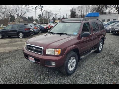 2003 Nissan Pathfinder for sale at Colonial Motors in Mine Hill NJ