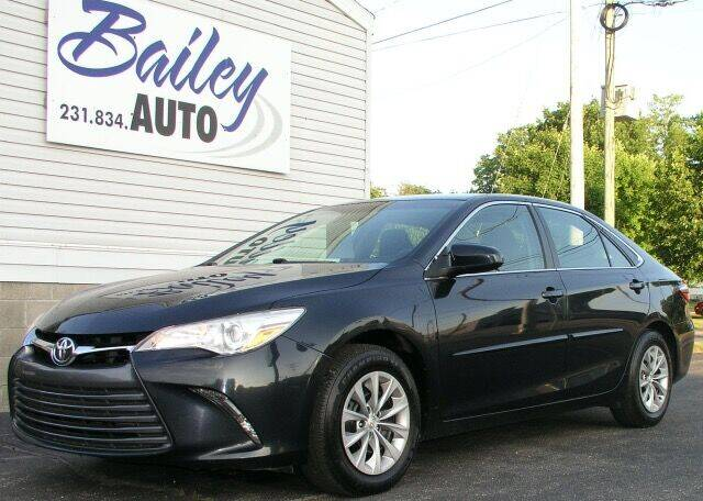 2016 Toyota Camry for sale at Bailey Auto LLC in Bailey MI