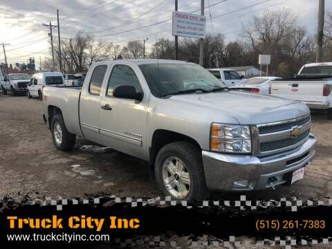 2013 Chevrolet Silverado 1500 for sale at Truck City Inc in Des Moines IA