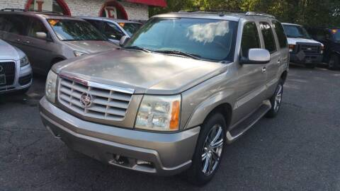 2002 Cadillac Escalade for sale at Ace Auto Brokers in Charlotte NC