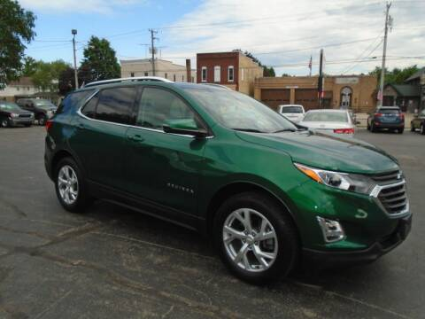 2018 Chevrolet Equinox for sale at NORTHLAND AUTO SALES in Dale WI