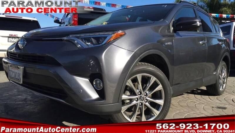 2017 Toyota RAV4 Hybrid for sale in Downey, CA