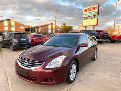 2012 Nissan Altima for sale at Car Gallery in Oklahoma City OK