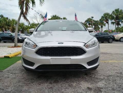 2016 Ford Focus for sale at Roadmaster Auto Sales in Pompano Beach FL