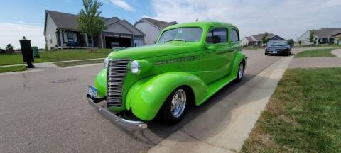 1938 Chevrolet Master Deluxe for sale at Midwest Classic Car in Belle Plaine MN