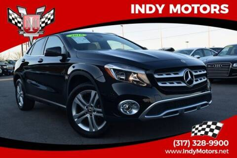 2018 Mercedes-Benz GLA for sale at Indy Motors Inc in Indianapolis IN