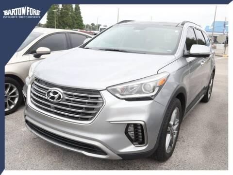 2017 Hyundai Santa Fe for sale at BARTOW FORD CO. in Bartow FL