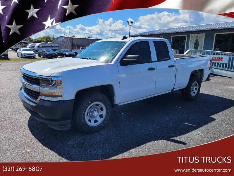2017 Chevrolet Silverado 1500 for sale at Titus Trucks in Titusville FL