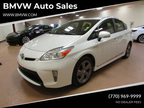 2015 Toyota Prius for sale at BMVW Auto Sales in Union City GA