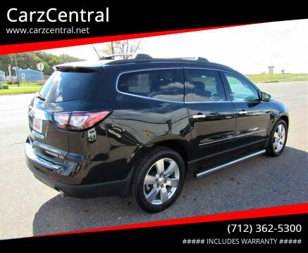 2013 Chevrolet Traverse for sale at CarzCentral in Estherville IA