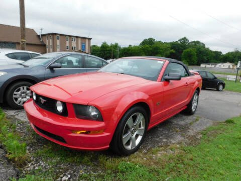 2006 Ford Mustang for sale at WOOD MOTOR COMPANY in Madison TN
