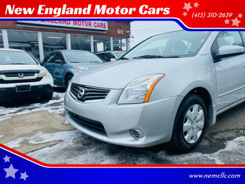 2011 Nissan Sentra for sale at New England Motor Cars in Springfield MA