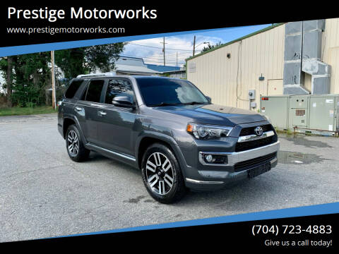 2016 Toyota 4Runner for sale at Prestige Motorworks in Concord NC