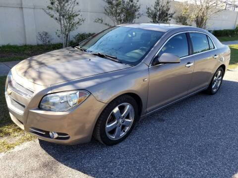 2008 Chevrolet Malibu for sale at Low Price Auto Sales LLC in Palm Harbor FL