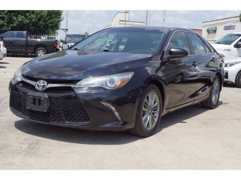 2015 Toyota Camry for sale at Credit Connection Sales in Fort Worth TX