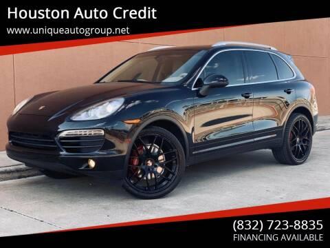 2012 Porsche Cayenne for sale at Houston Auto Credit in Houston TX