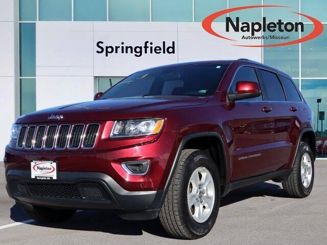 2016 Jeep Grand Cherokee for sale at Napleton Autowerks in Springfield MO