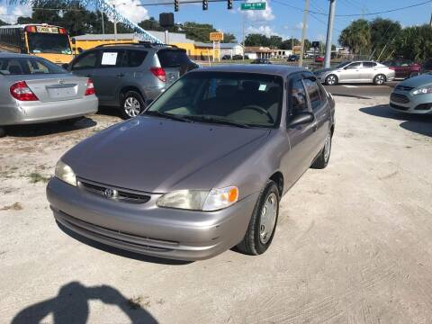 1999 Toyota Corolla for sale at SKYLINE AUTO SALES LLC in Winter Haven FL