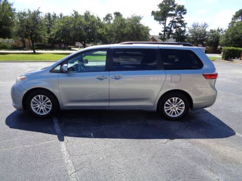 2015 Toyota Sienna for sale at BALKCUM AUTO INC in Wilmington NC