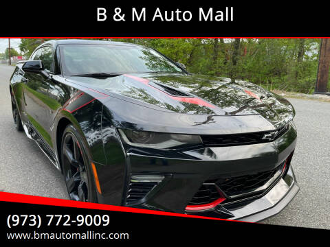 2018 Chevrolet Camaro for sale at B & M Auto Mall in Clifton NJ