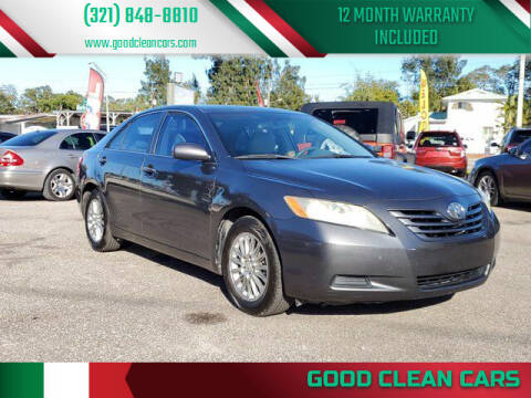 2007 Toyota Camry for sale at Good Clean Cars in Melbourne FL